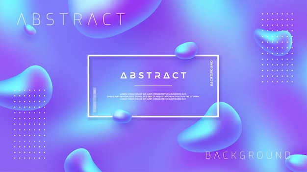 Abstract background with mixing purple and blue color.