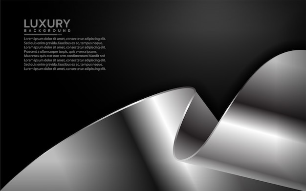 Abstract background with modern shape
