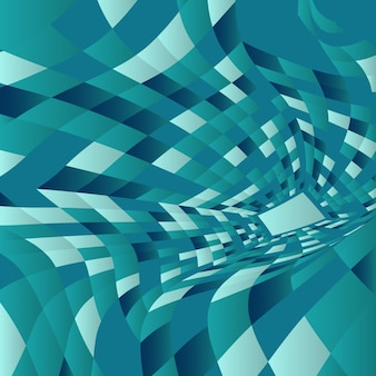 Abstract background with a modern warp design