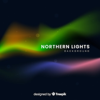Abstract background with northern lights