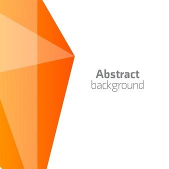Абстрактный 3d фон оранжевый