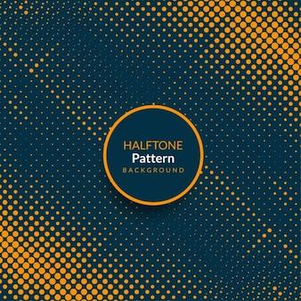 Современный шаблон полутонов абстрактный дизайн фона