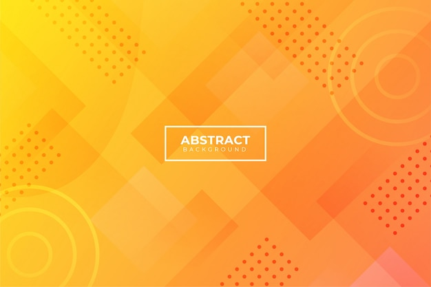 Abstract background with orange shapes