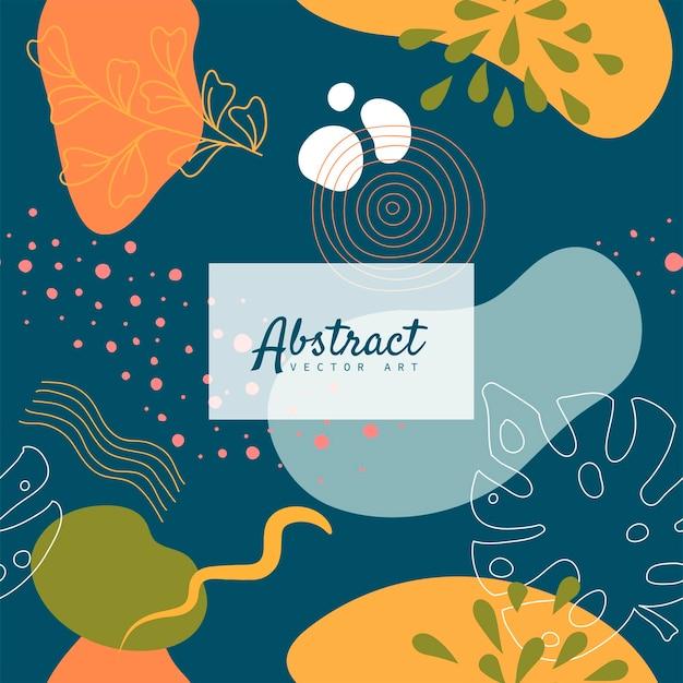 Абстрактный фон с органическими всплесками в пастельных обнаженных тонах.