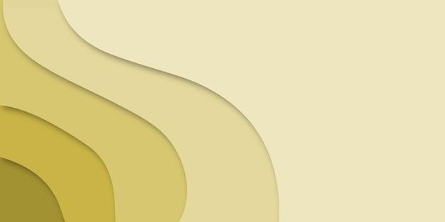 紙で抽象的な背景カット形状