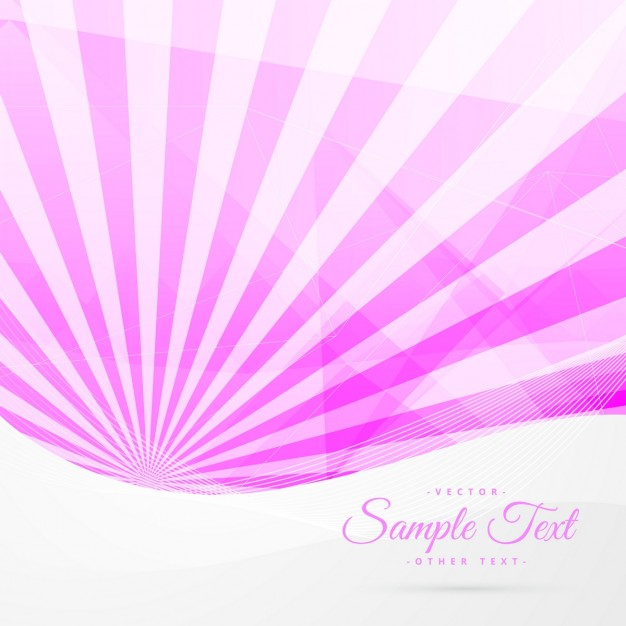 Abstract background with pink rays