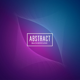 Abstract background with purple and blue wavy forms