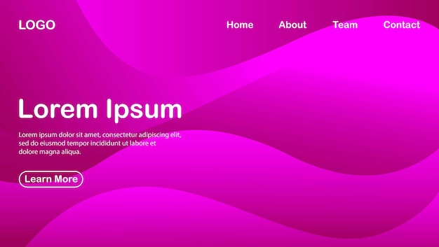 Abstract background with purple color effect