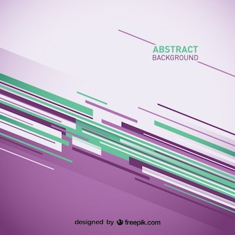Abstract background with purple and green stripes