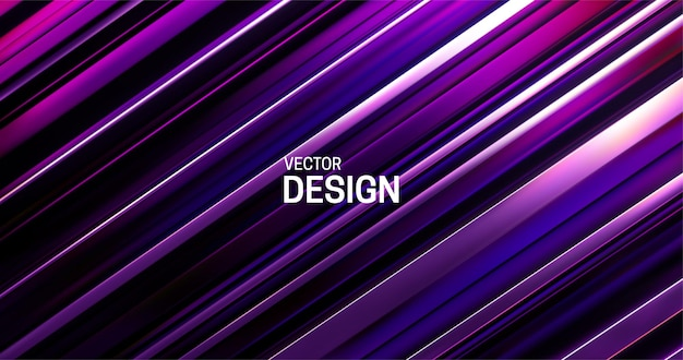 Abstract background with purple layered surface