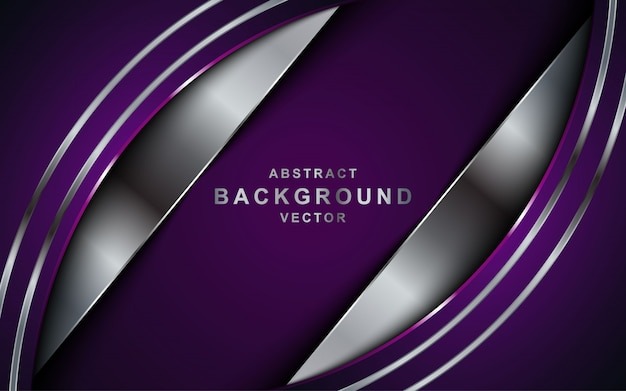 Abstract background with purple overlap layers.