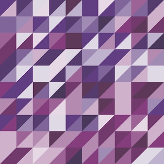 Abstract background with purple tone triangles