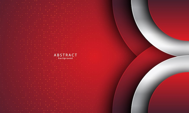 Abstract background with realistic style