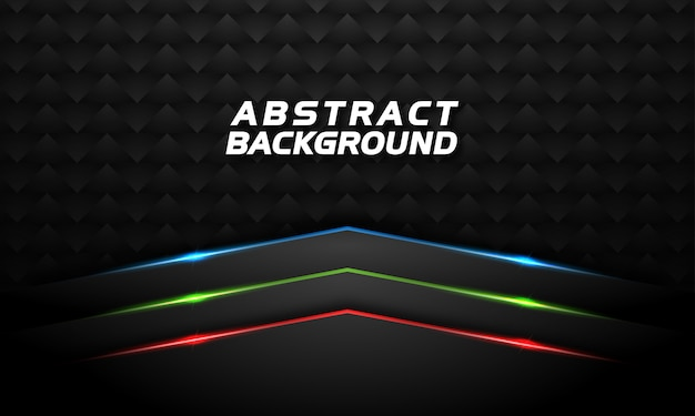 Abstract background with red green and blue glowing line