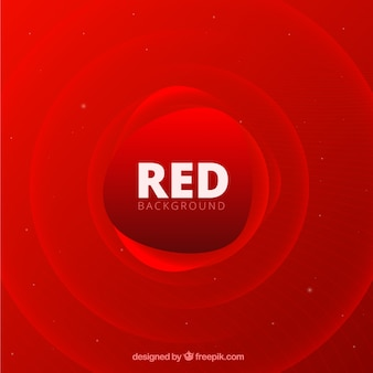 Abstract background with red shapes