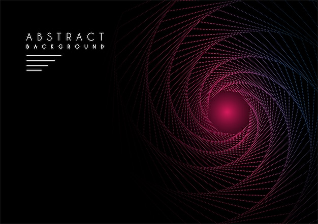 Abstract background with sample text in dark color Premium Vector