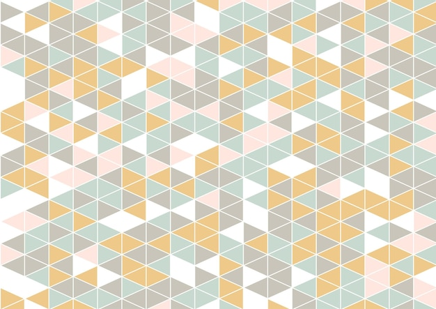 Abstract background with a scandinavian low poly style design
