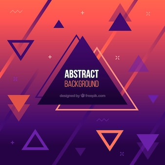 Abstract background with shapes and colors