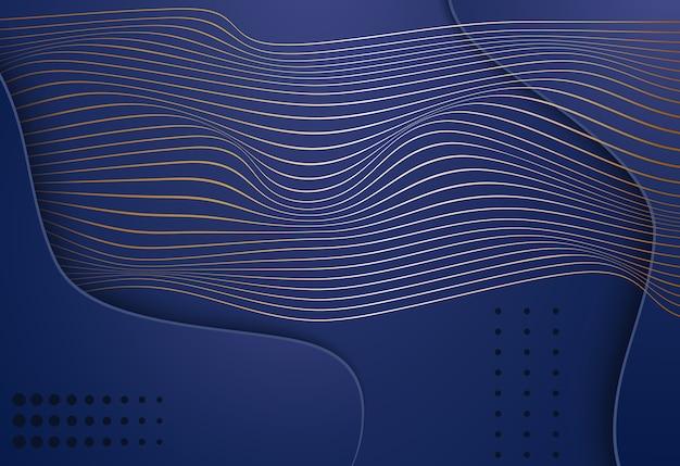 Абстрактный фон с формой формы