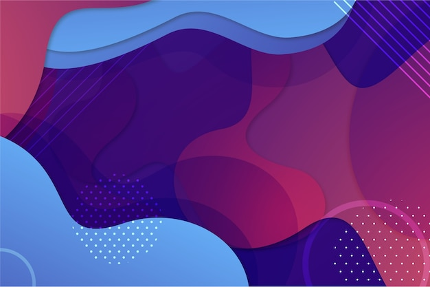 Abstract background with shapes