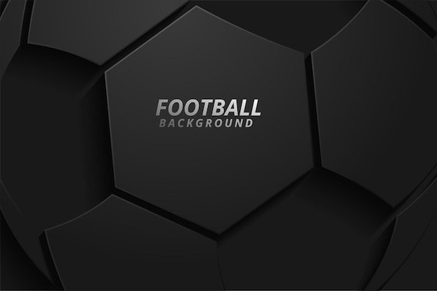 Абстрактный фон с футбольным мячом