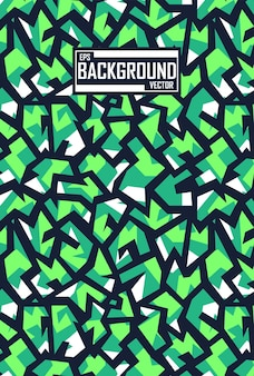 Abstract background with sport pattern for leggings Premium Vector