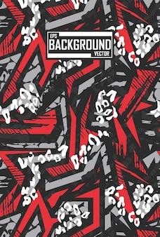 Abstract background with sport pattern for leggings