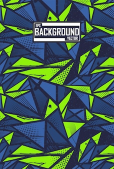 Abstract background with sport pattern