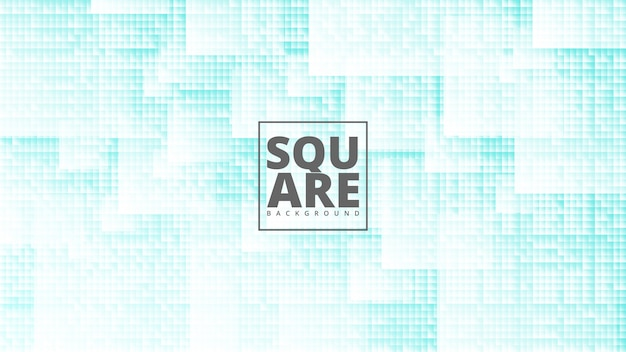 Abstract background with square design.
