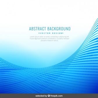 Абстрактный фон с полосатой волны