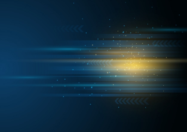 Abstract background with technology high speed concept.
