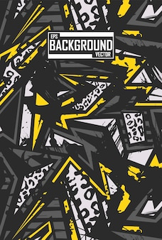 Abstract background with tiger pattern Premium Vector
