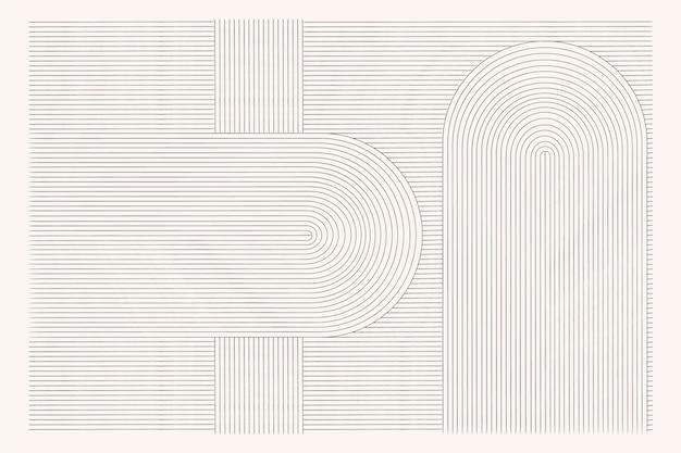 Абстрактный фон с различными формами