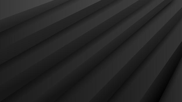 Абстрактный фон с объемной лестницей в черных тонах