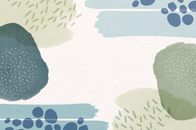 Abstract background with watercolor shapes and empty space