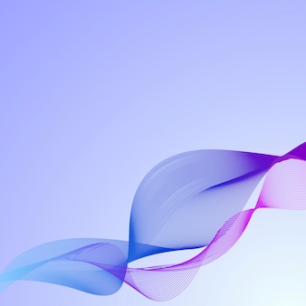 Abstract background with wavy lines