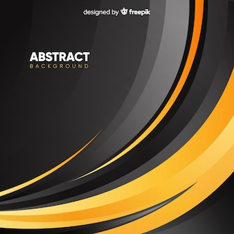 Abstract background with wavy shapes