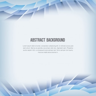 Abstract background with wavy squares