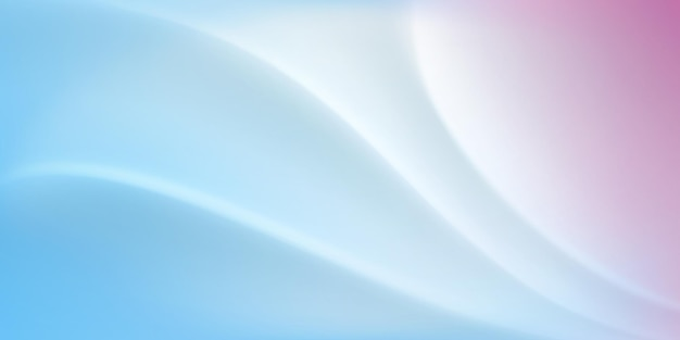 白と水色の波状の表面を持つ抽象的な背景