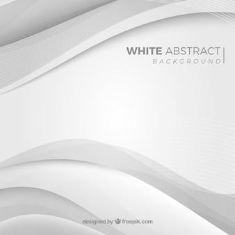 Sfondo astratto con colore bianco