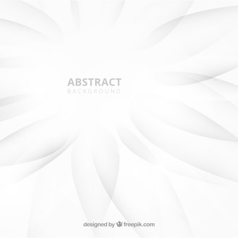 Abstract background with white color