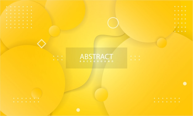 Abstract background with yellow color