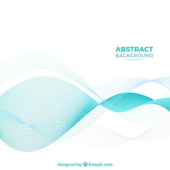 Abstract background withelegant waves