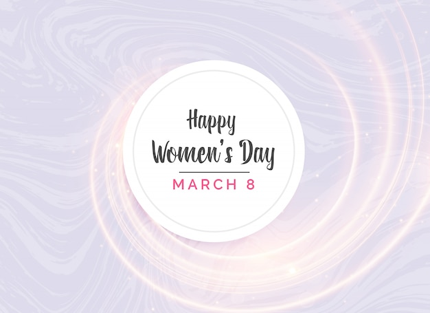 Abstract background of woman's day