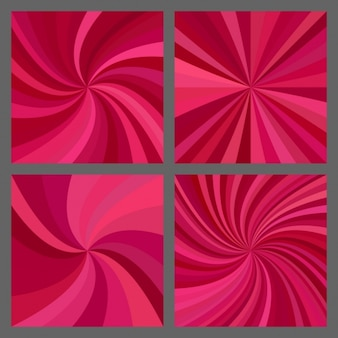 Collezione abstract backgrounds