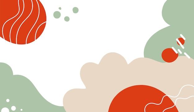 Абстрактные фоны с цветочными элементами и органическими формами.