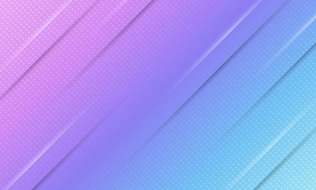 하프톤 스타일로 추상 배너 배경 파란색과 보라색 그라데이션.