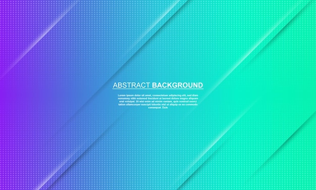Abstract banner background blue and purple gradient with halftone style