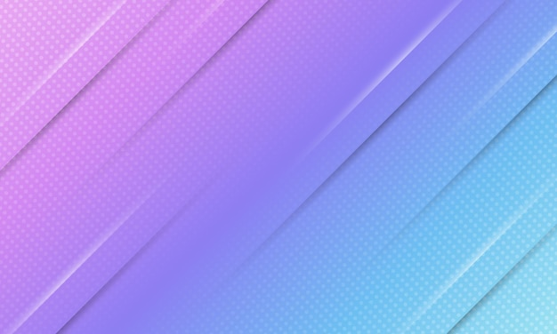 Abstract banner background blue and purple gradient with halftone style.