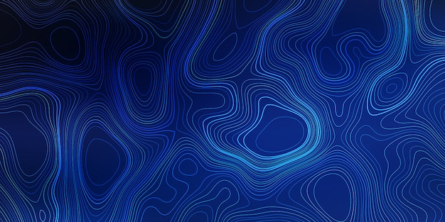 Abstract banner background with an abstract topography design